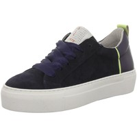 Schuhe Damen Sneaker Low Black 236788-837 blau