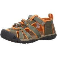 Schuhe Jungen Wanderschuhe Keen Trekkingsandalen 1022998-1022983 Seacamp II CNX grün