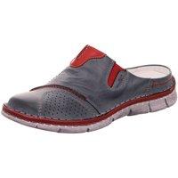 Schuhe Damen Pantoletten / Clogs Krisbut Pantoletten 2046-4 blau