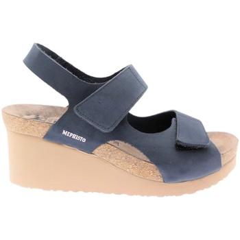 Schuhe Damen Sandalen / Sandaletten Mephisto MEPHTINYbl blu