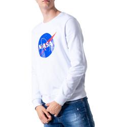 Kleidung Herren Sweatshirts Nasa NS07U Bianco