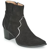 Schuhe Damen Low Boots Karston APLAX Schwarz
