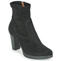 Schuhe Damen Low Boots Karston VABONO Schwarz