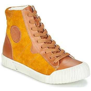 Schuhe Damen Sneaker High Karston OMSTAR Ocker