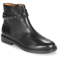 Schuhe Damen Boots Karston OVMI Schwarz
