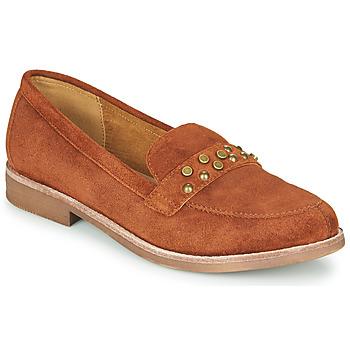 Schuhe Damen Slipper Karston ACALI Ocker