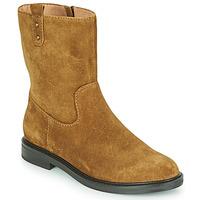 Schuhe Damen Boots Karston OVRIN Braun