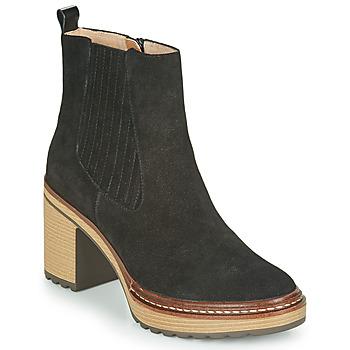 Schuhe Damen Low Boots Karston GRANI Schwarz