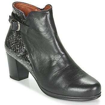 Schuhe Damen Low Boots Karston TUCKO Schwarz