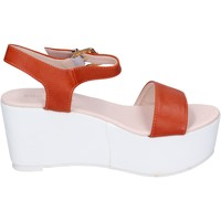 Schuhe Damen Sandalen / Sandaletten Solo Soprani BN770 orange
