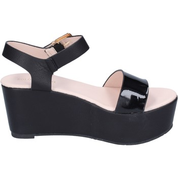Schuhe Damen Sandalen / Sandaletten Solo Soprani sandalen kunstleder schwarz