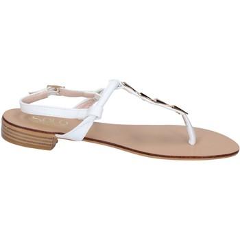 Schuhe Damen Sandalen / Sandaletten Solo Soprani BN777 weiß