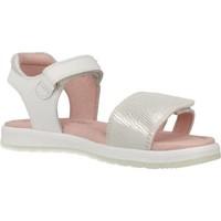 Schuhe Mädchen Sandalen / Sandaletten Garvalin 202640 Weiß