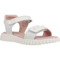 Schuhe Mädchen Sandalen / Sandaletten Garvalin 202645 Weiß