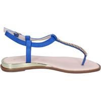 Schuhe Damen Sandalen / Sandaletten Solo Soprani BN778 blau