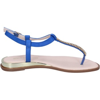 Schuhe Damen Sandalen / Sandaletten Solo Soprani sandalen kunstleder blau