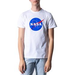 Kleidung Herren T-Shirts Nasa NS01U Bianco