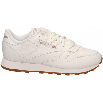 Schuhe Damen Fitness / Training Reebok Sport CL LTHR white-gum
