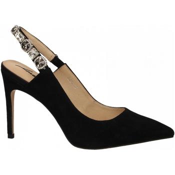 Schuhe Damen Pumps Luciano Barachini CAMOSCIO nero