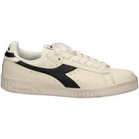 Schuhe Sneaker Low Diadora GAME L LOW WAXED c6180-bianco