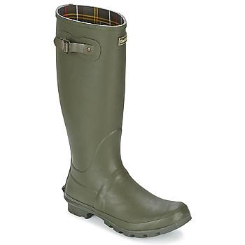 Schuhe Herren Gummistiefel Barbour BEDE Olive