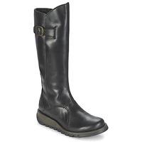 Schuhe Damen Klassische Stiefel Fly London MOL 2 Schwarz