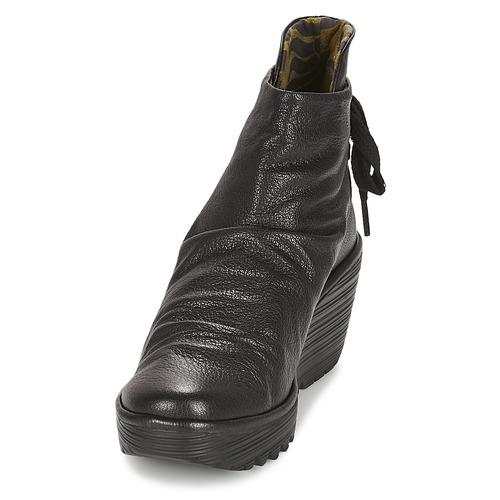 Fly London YAMA Schwarz 95,20  Schuhe TurnschuheLow Damen 95,20 Schwarz 48368b