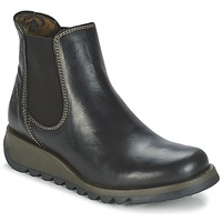 Schuhe Damen Boots Fly London SALV Schwarz