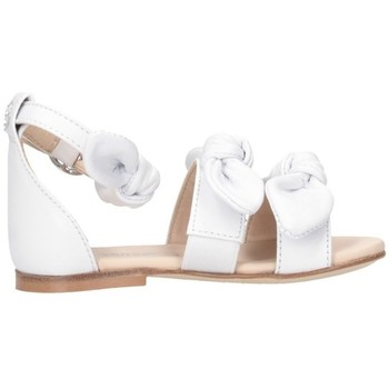 Schuhe Mädchen Sandalen / Sandaletten Florens J055950B weiß