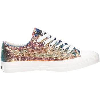Schuhe Damen Sneaker Low Shop Art SA020025 Sneaker Frau irisierend irisierend