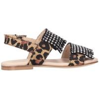 Schuhe Mädchen Sandalen / Sandaletten Florens J05521-2 Sandalen Kind Sand Sand