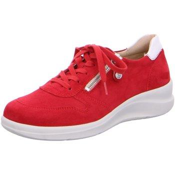 Schuhe Damen Sneaker Low Fidelio Schnuerschuhe Schnürschuh HARMONY 546104-16 rot