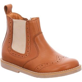 Schuhe Mädchen Boots Froddo Stiefel G3160118 1 braun