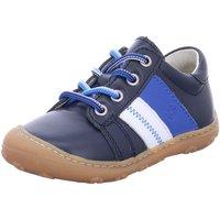 Schuhe Jungen Babyschuhe Ricosta Schnuerschuhe Rocky 1222700/171 blau