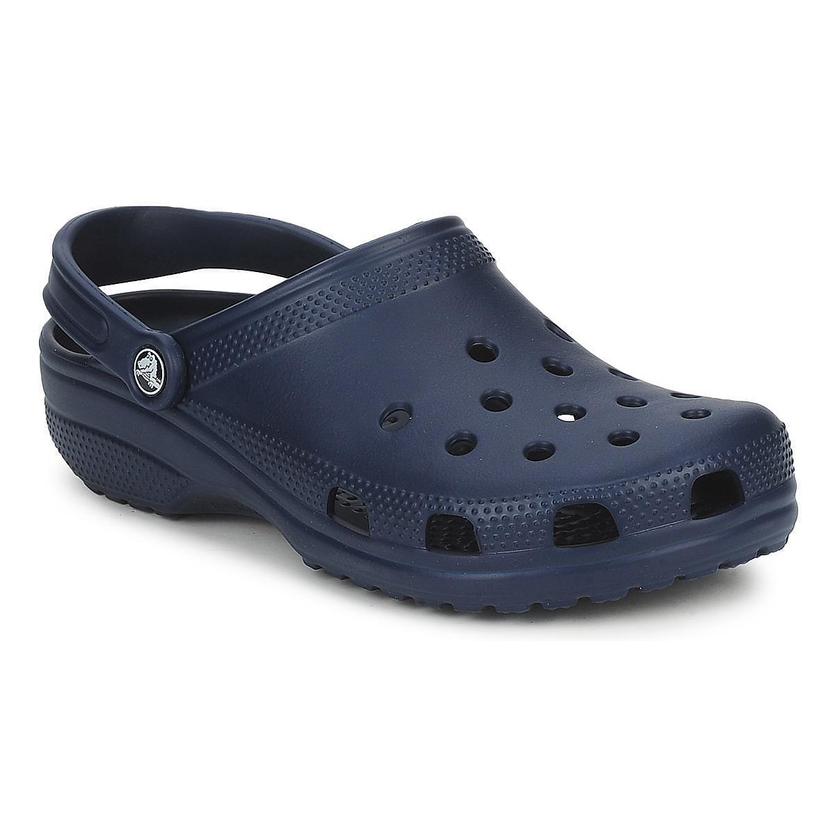 Crocs CLASSIC Marine - Kostenloser Versand bei Spartoode ! - Schuhe Pantoletten / Clogs  28,00 €