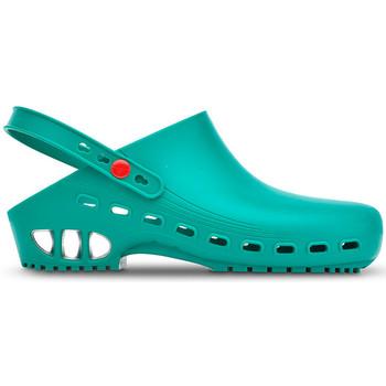 Schuhe Pantoletten / Clogs Saguy's WORK CLOG SAGUYS PROFESSIONAL 21016 GRÜN