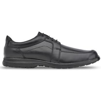Schuhe Herren Derby-Schuhe Saguy's Bequeme Saguys Arbeitsschuhe für Männer BLACK