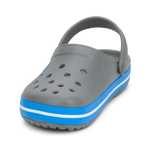 Crocs CROCBAND Grau Schuhe Pantoletten / Clogs 38,24