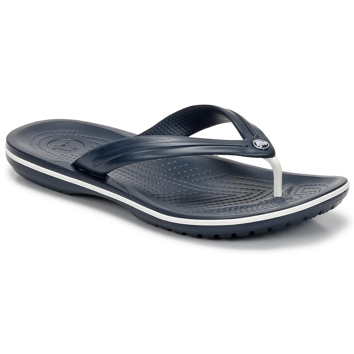 Crocs CROCBAND FLIP Marine - Kostenloser Versand bei Spartoode ! - Schuhe Zehensandalen  20,00 €