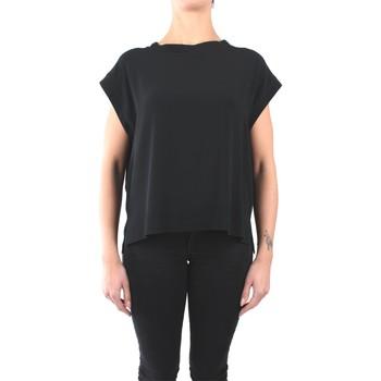 Kleidung Damen Tops / Blusen Momoni Momonì MOBL004 04MO Blusen Damen schwarz schwarz