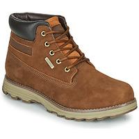 Schuhe Herren Boots Caterpillar FOUNDER WP TX Braun