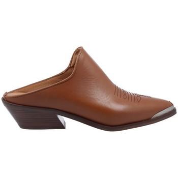 Schuhe Damen Pantoffel Alpe Zuecos Tejanos Casual para Mujer de  4591 braun