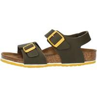 Schuhe Jungen Sandalen / Sandaletten Birkenstock 1015754 grün