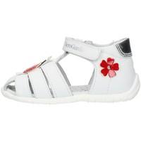 Schuhe Mädchen Sandalen / Sandaletten Nero Giardini E018090F weiß