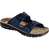 Schuhe Herren Pantoffel Birkenstock 520811 Blu