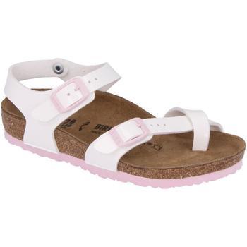 Schuhe Mädchen Sandalen / Sandaletten Birkenstock 1014443 Bianco