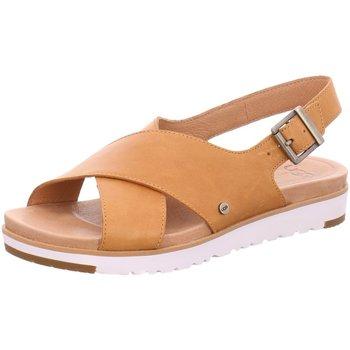 Schuhe Damen Sandalen / Sandaletten UGG Sandaletten 1092259 cognac braun