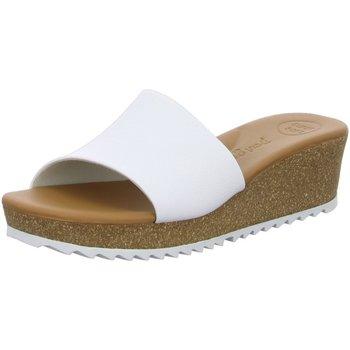 Schuhe Damen Pantoletten / Clogs Paul Green Pantoletten weiß