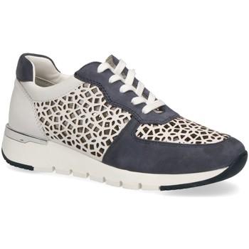 Schuhe Damen Sneaker Low Caprice Schnuerschuhe Sommerlicher Schnürschuh 23504-135 weiß