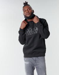 Kleidung Herren Sweatshirts Armani Exchange 6HZMFK Schwarz